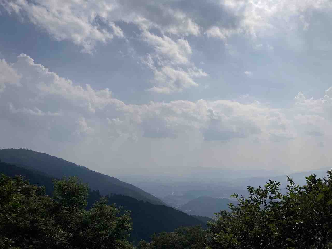比叡山の景色