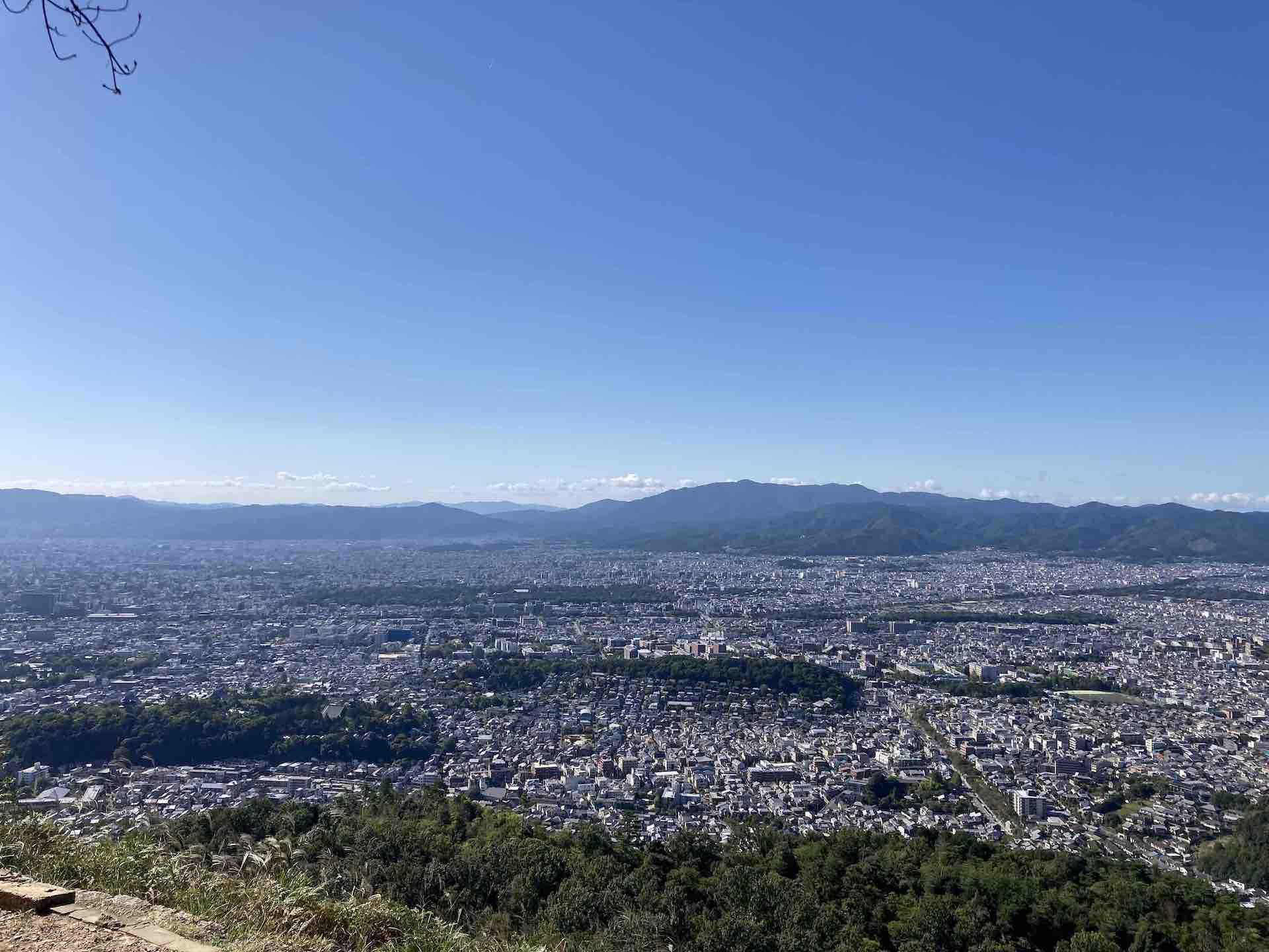 京都一周トレイル 大文字火床エリア