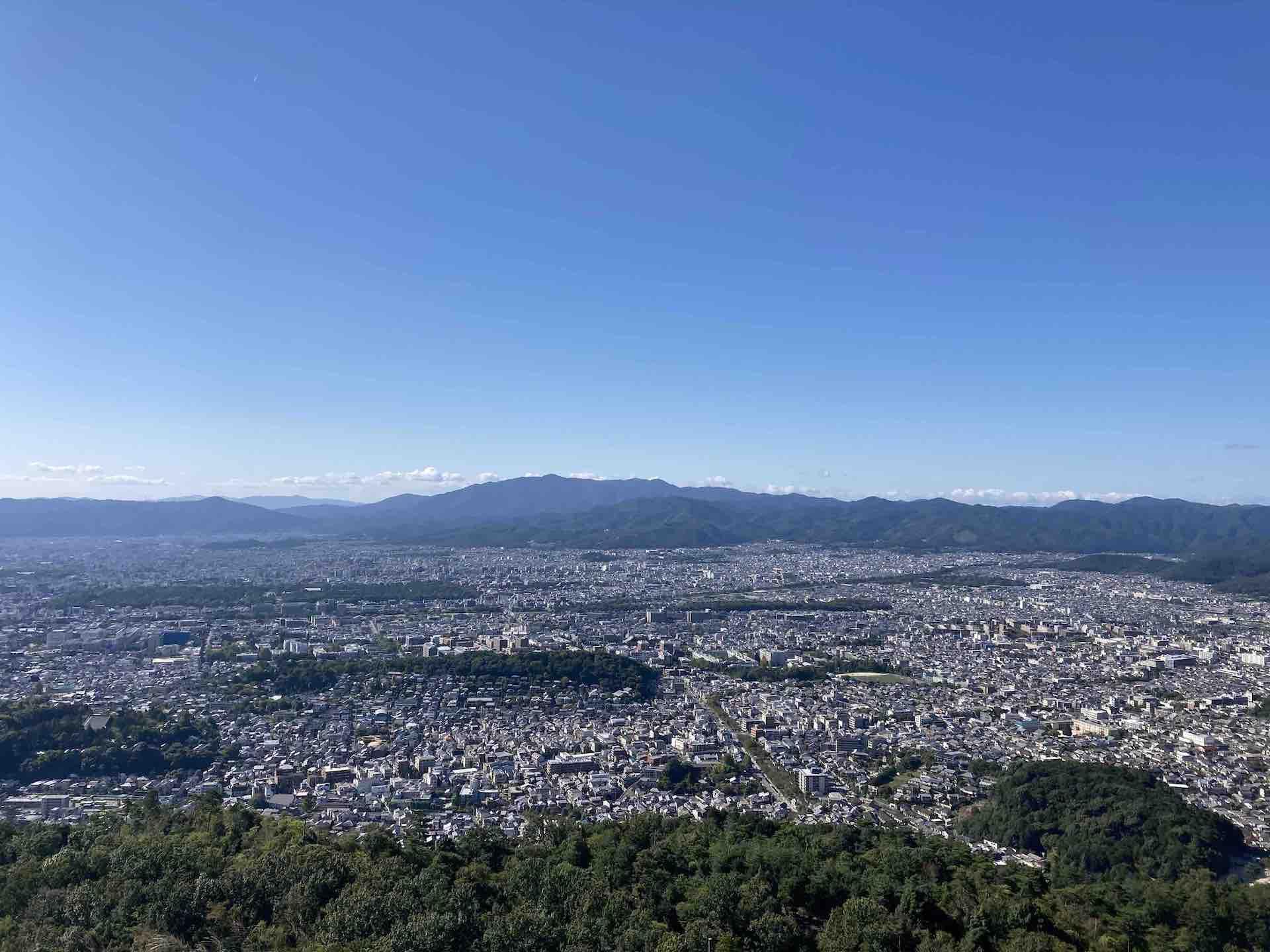 京都一周トレイル 大文字山頂エリア
