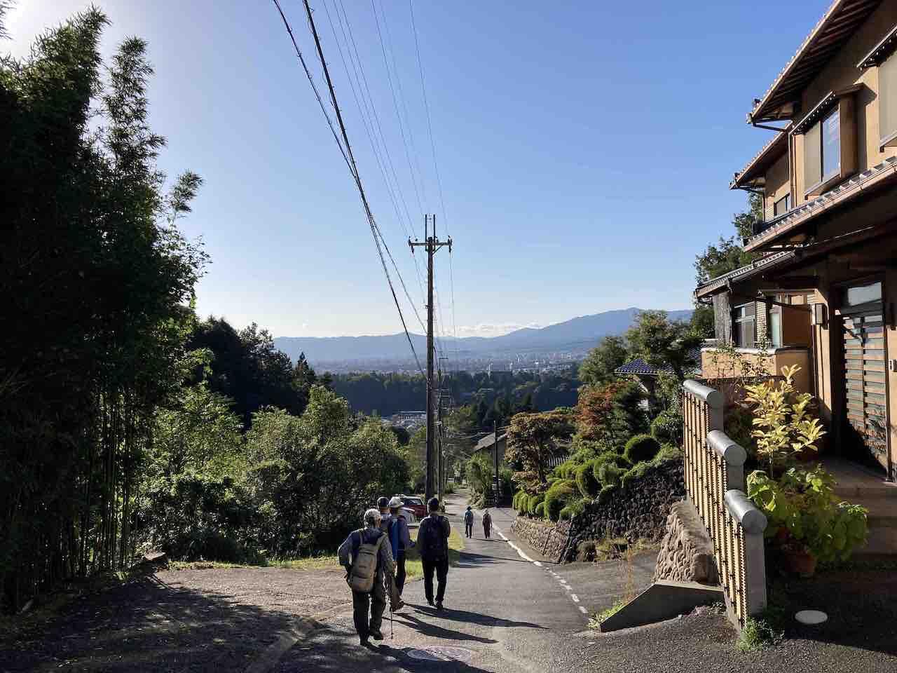 京都一周トレイル 哲学の道エリア