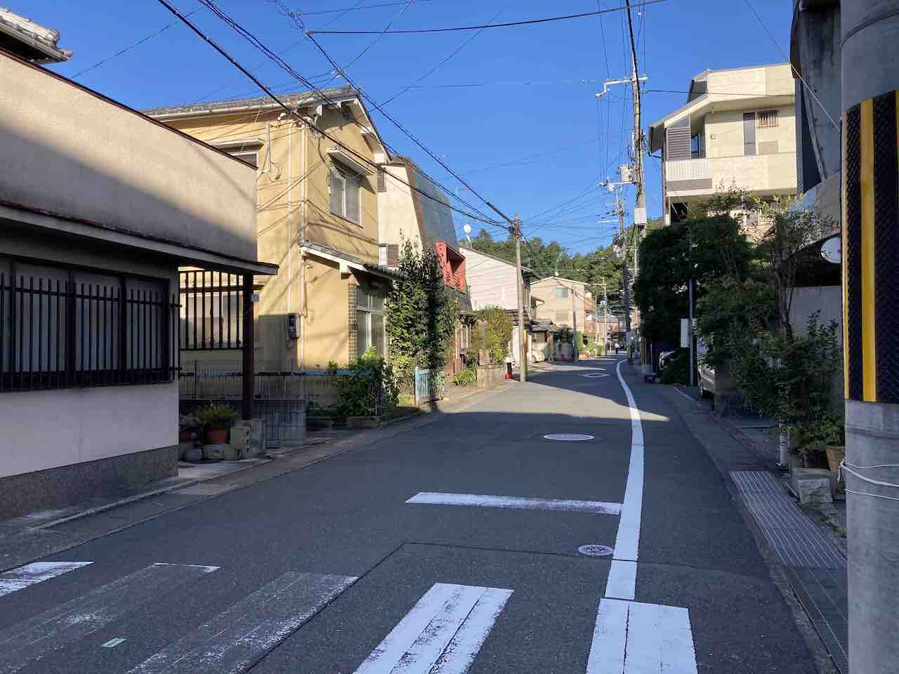 京都一周トレイル 北白川エリア