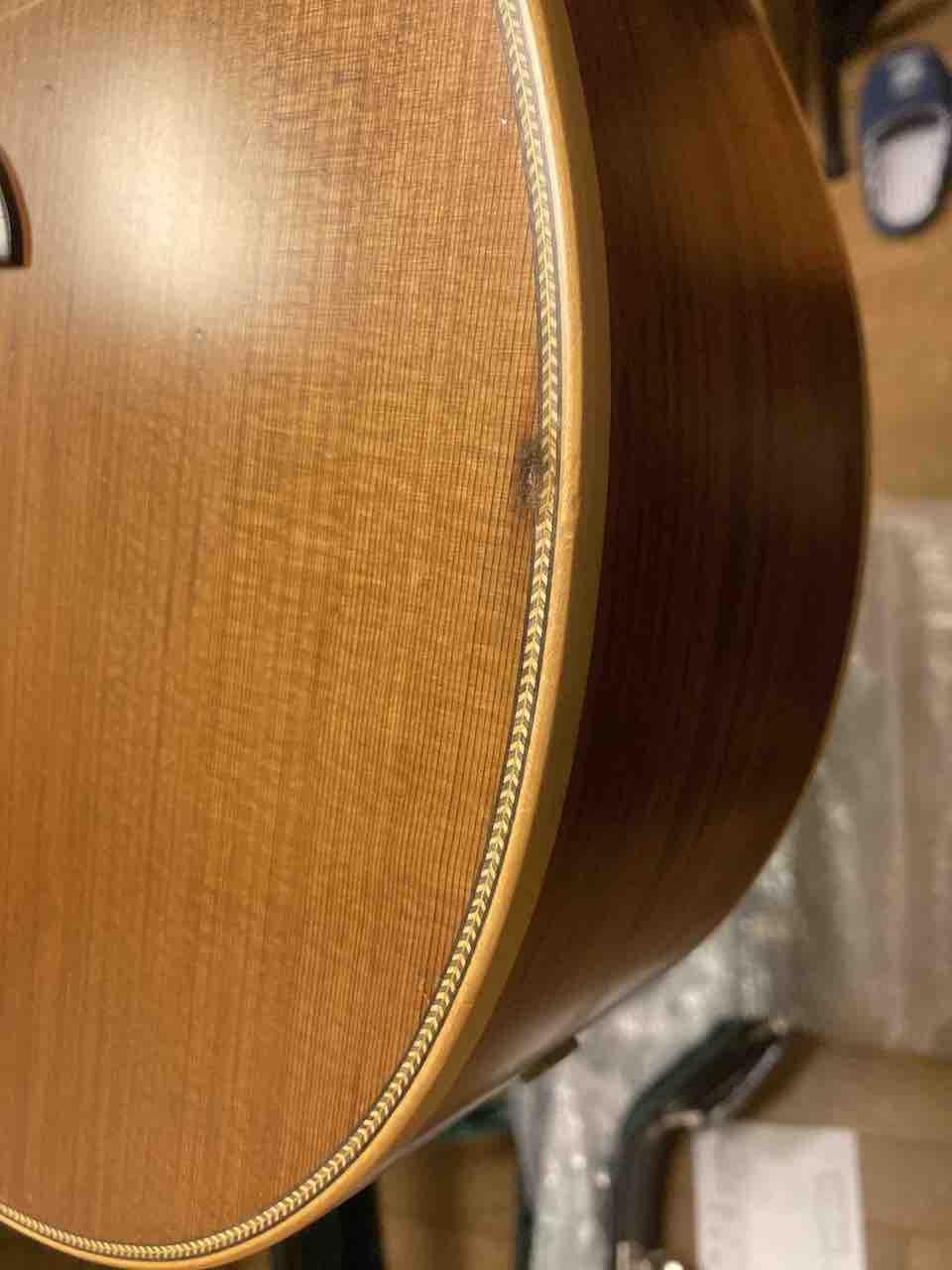 ヤイリギターの修理後