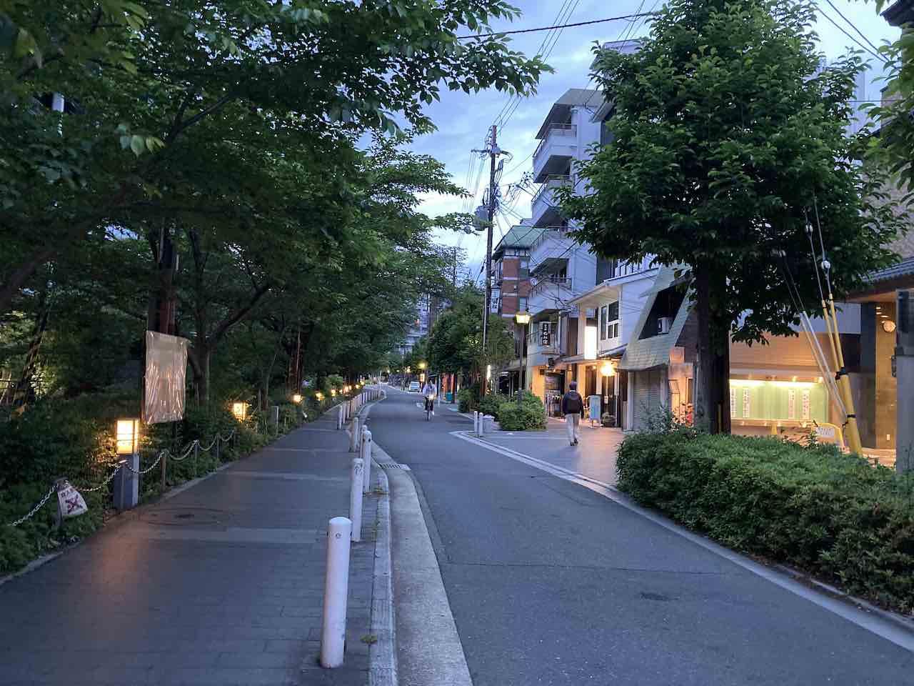 帰宅ラン 京都 木屋町